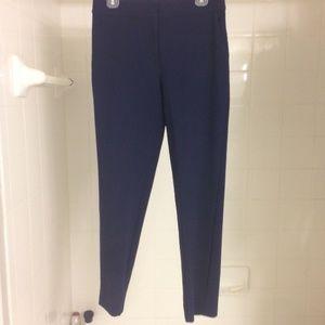 St. John Slim Navy Dress Pants US 4